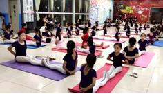 """""""爱健身,爱瑜伽""""舞蹈比赛火爆开场1.png"""